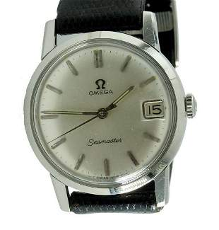 MEN'S STAINLESS 610 OMEGA SEAMASTER SILVER STICK WATCH