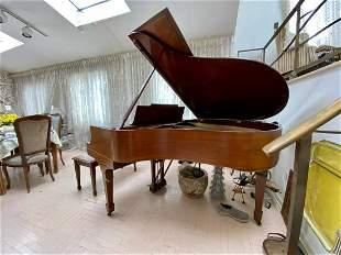 STEINWAY Model M GRAND PIANO 1930s w STEINWAY BENCH