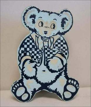 GRATEFUL DEAD TEDDY BEAR NIGHT LIGHT PIGEON EGG BLUE