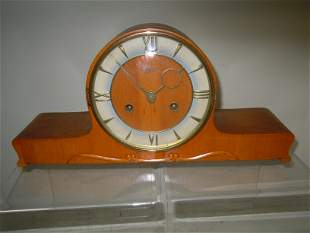 URGOS GERMANY 8 DAY WESTMINSTER CHIME MANTLE CLOCK An