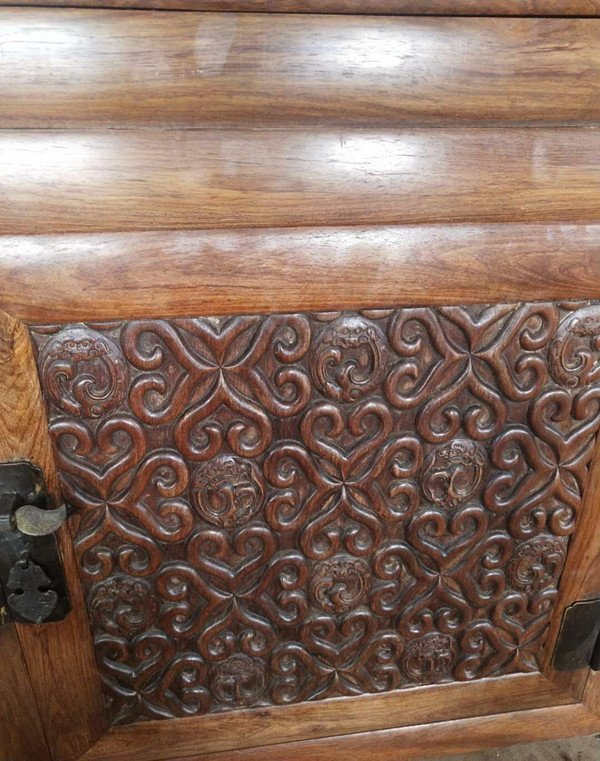 Rare Large Antique Chinese Huanghuali Wood  Cabinets - 10