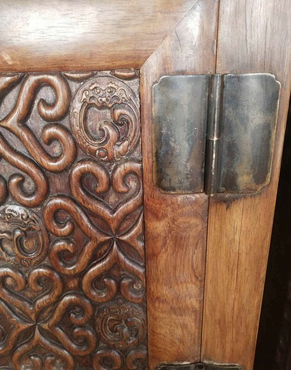 Rare Large Antique Chinese Huanghuali Wood  Cabinets - 2