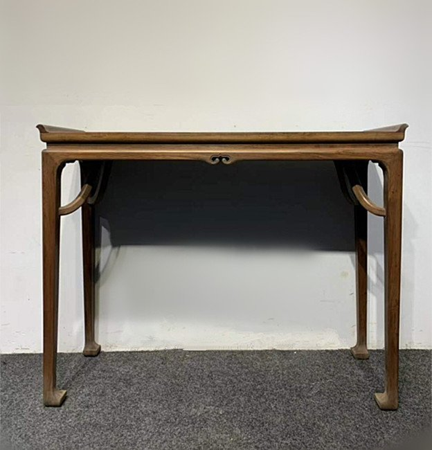 Rare Antique Chinese Huanghuali Wood Console Table