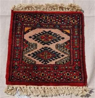 Pakistani Wool Pile Rug 2 Diamonds 13x13