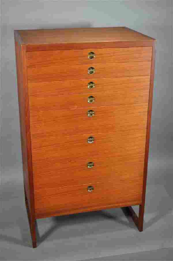 High Chest of Drawers by Borge Mogensen, 1960s