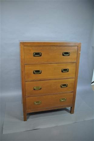 Chest Of Drawers Poor Condition 4 Drawer Dovetail