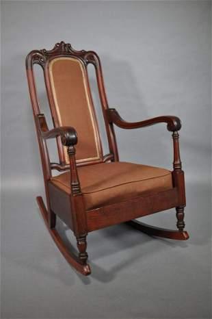 Victorian Cherry Rocking Chair 30 X 31 14