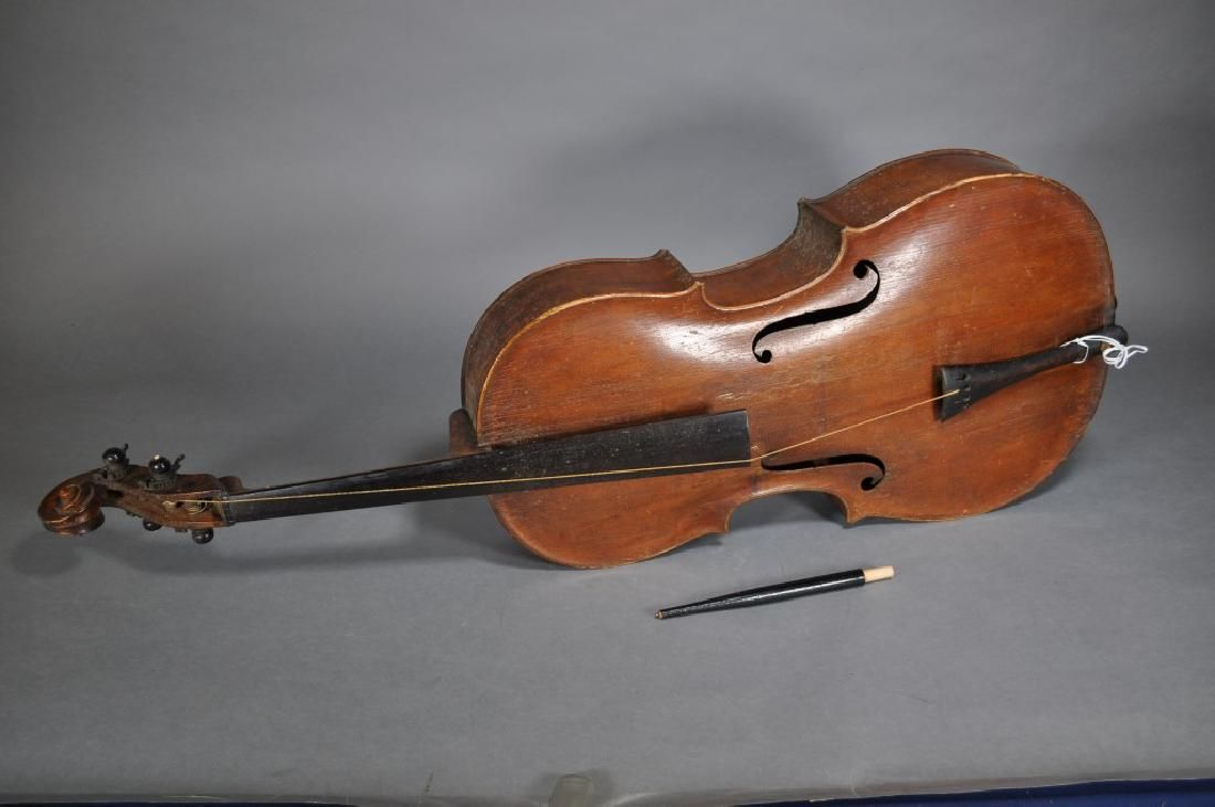 A Very Early Cello By Pfretzchner, Label