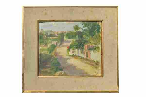 Rafael Barradas (1890-1929) Oil on canvas.