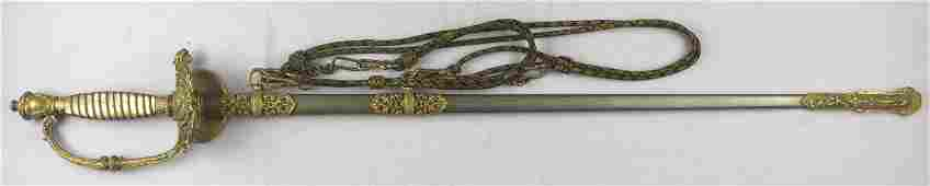 Uruguayan superior army Officer gala sword