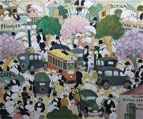 Oil on canvas. ZORRILLA DE SAN MARTÍN, Alfredo.