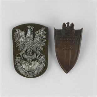Polish WWII badges