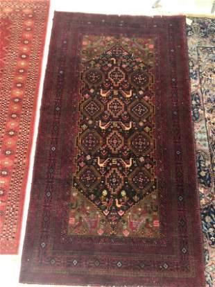 Beluchi afghan rug