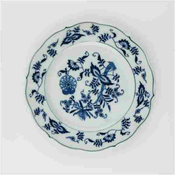 Japanese porcelain table set Blue Danube