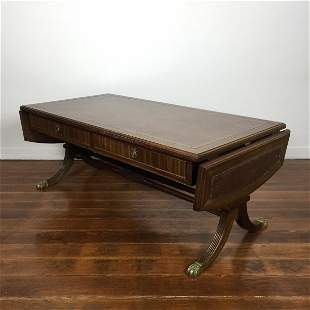 Rectangular English Sheraton table