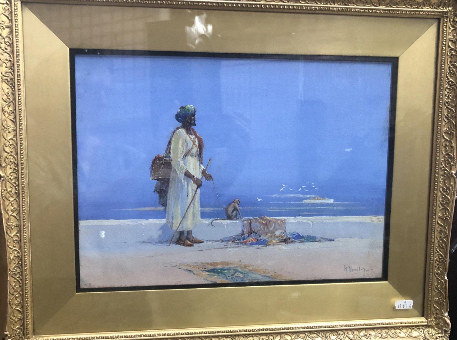 H Wheatley - A pair of Arab pedlar views