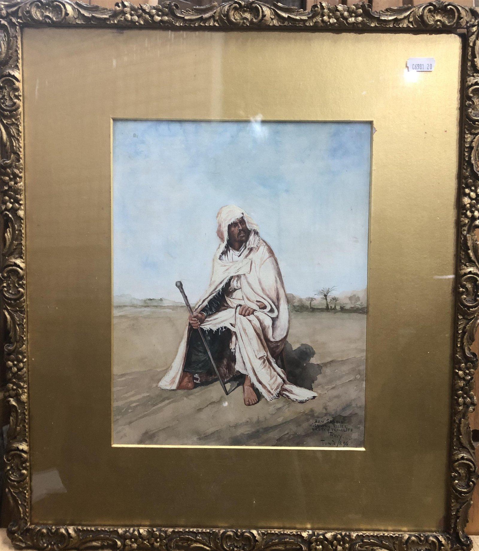 A Pavy - Ben Sadoun highway robber