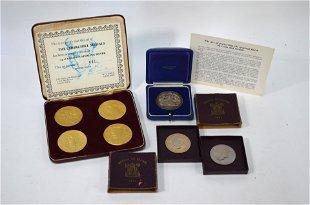 Two framed commemorative medals - Aug 25, 2019   John Moran