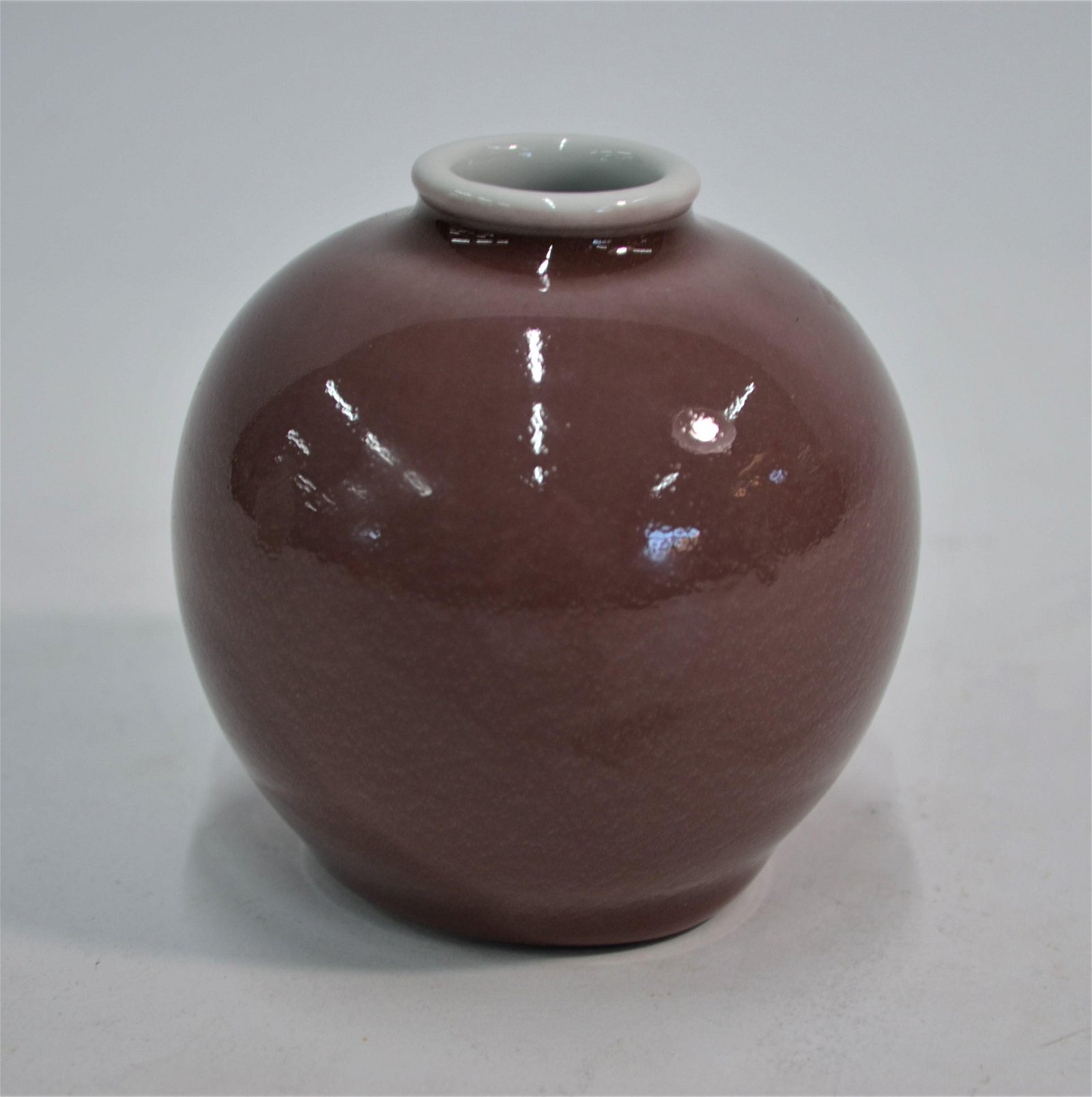 A 19th Chinese century porcelain water pot