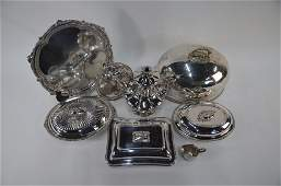 Victorian Old Sheffield Plate and other epns items