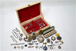 Jewel case including Victorian and later jewellery