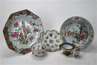 A small collection of 18th century and later Chinese