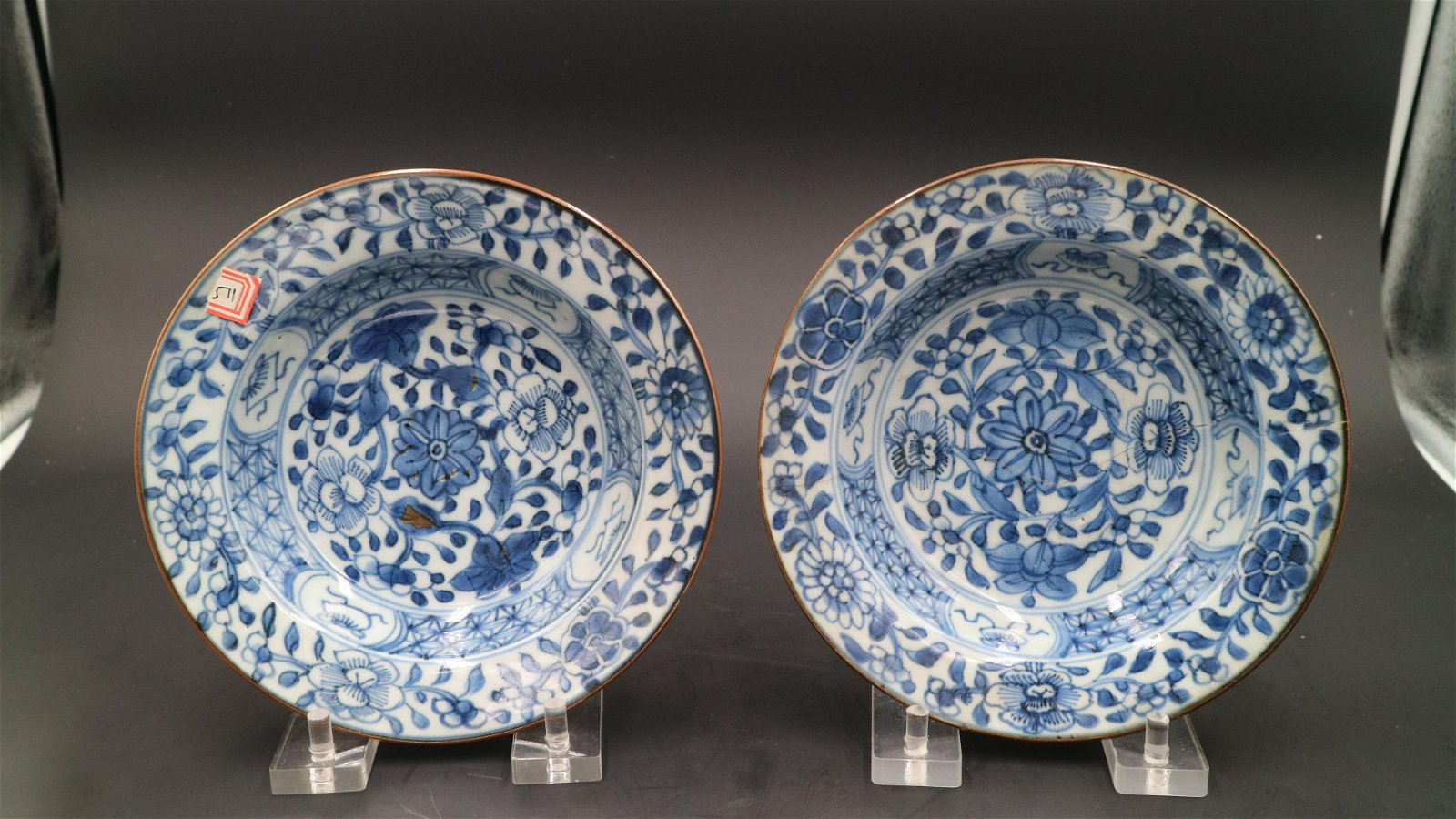 Chinese Pair Of Qing Dynasty Period Of Period Of