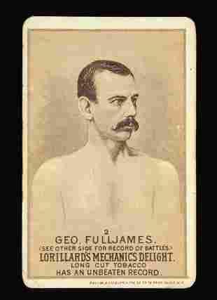 Mechanics Delight Boxing Card Geo. Fulljames #2