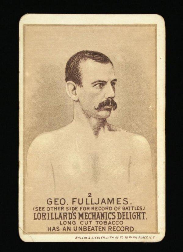 1114: Mechanics Delight Boxing Card Geo. Fulljames #2