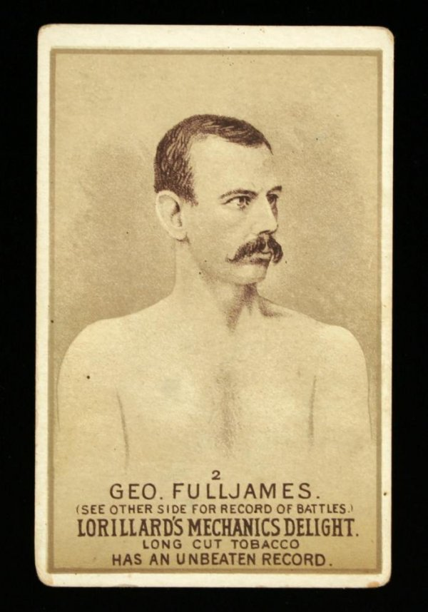 1115: Mechanics Delight Boxing Card Geo. Fulljames #2