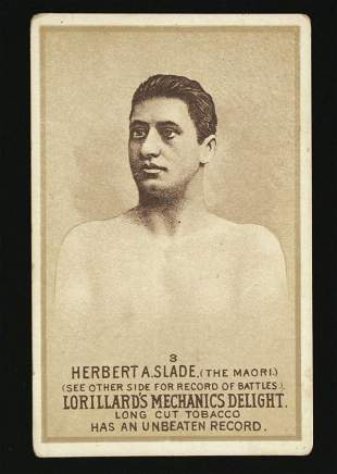 Mechanics Delight Boxing Card Herbert A Slade #3