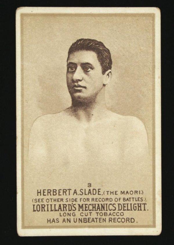 1116: Mechanics Delight Boxing Card Herbert A Slade #3