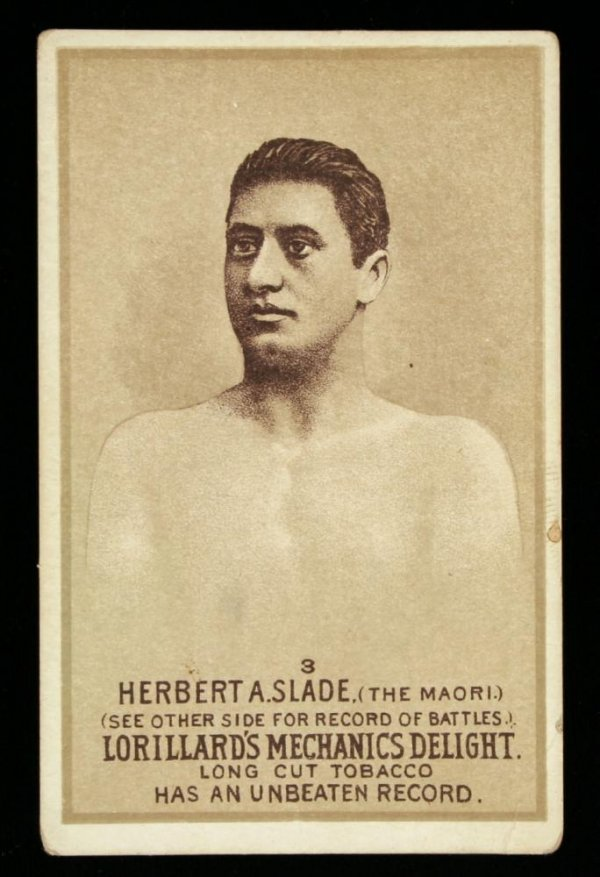 1117: Mechanics Delight Boxing Card Herbert A Slade #3