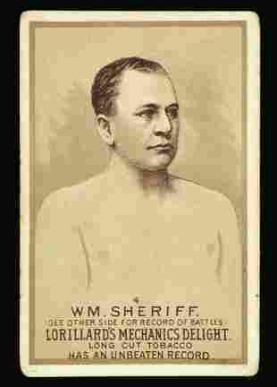 Mechanics Delight Boxing Card Wm. Sheriff #4