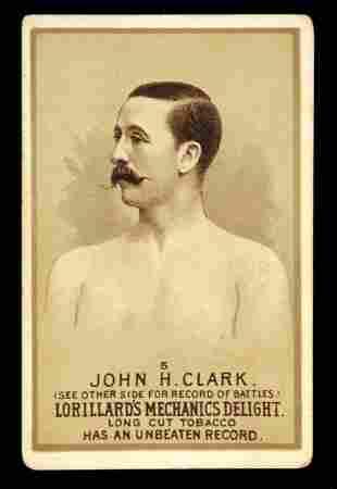 Mechanics Delight Boxing Card John H. Clark #5