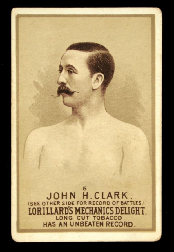 1120: Mechanics Delight Boxing Card John H. Clark #5