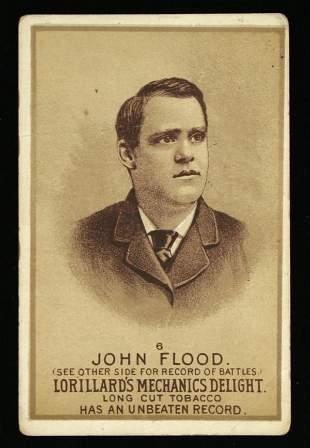 Mechanics Delight Boxing Card John Flood #6