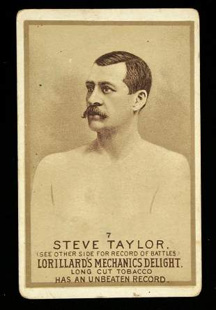 Mechanics Delight Boxing Card Steve Taylor #7