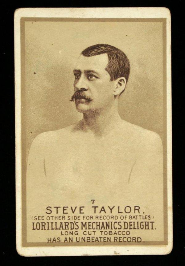 1122: Mechanics Delight Boxing Card Steve Taylor #7