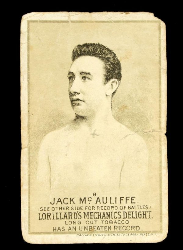 1124: Mechanics Delight Boxing Card Jack McAuliffe #9