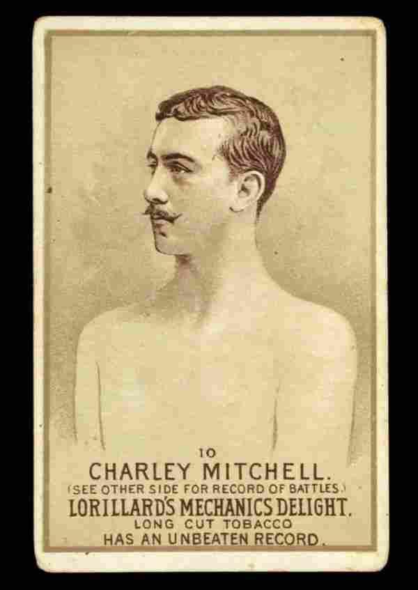 Mechanics Delight Boxing Card C. Mitchell #10