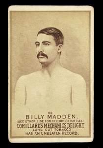 1144: Mechanics Delight Boxing Card Billy Madden #22