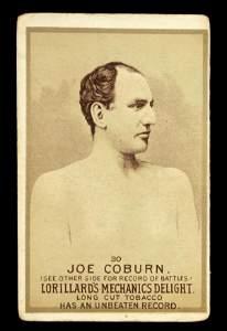 1158: Mechanics Delight Boxing Card Joe Coburn #30