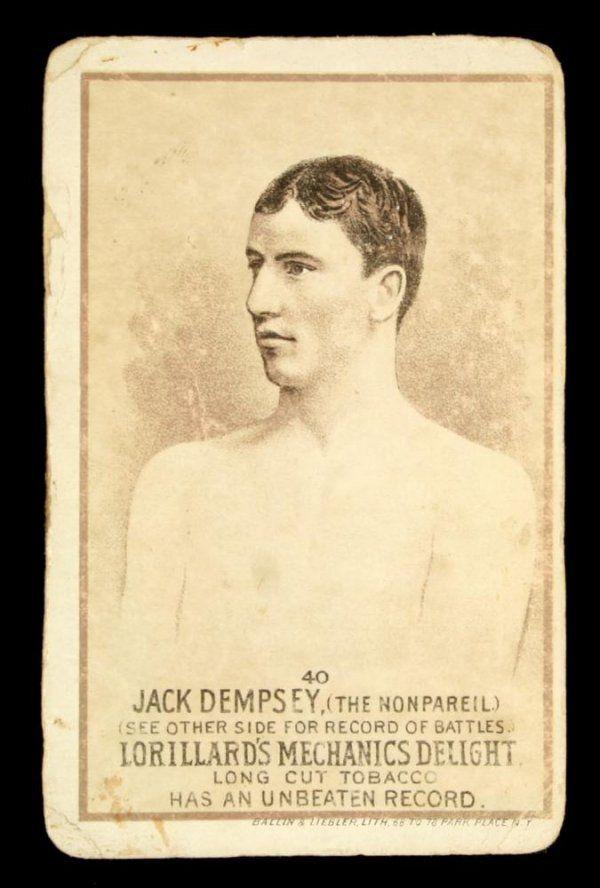 Mechanics Delight Boxing Card Jack Dempsey #40