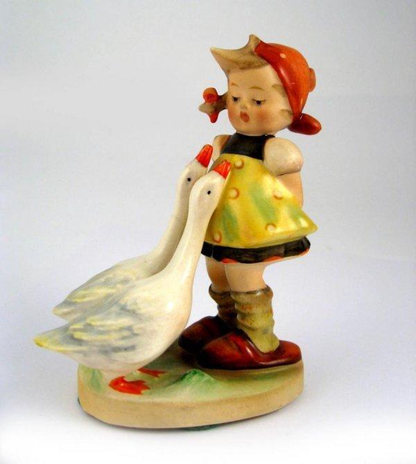 128: Goebel Hummel Goose Girl No. 47 3/0 TMK1