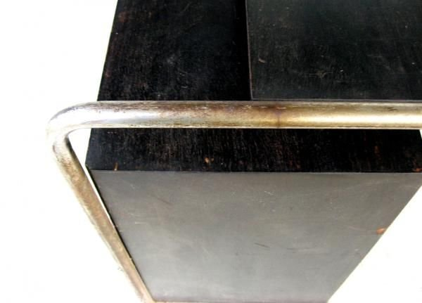 101: Marcel Breuer Thonet Bauhaus Steel & Wood Desk - 3