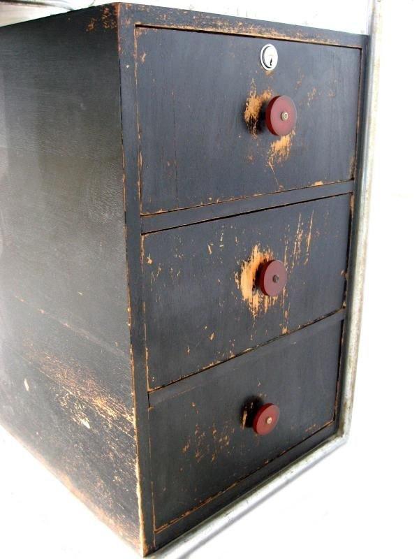 101: Marcel Breuer Thonet Bauhaus Steel & Wood Desk - 4