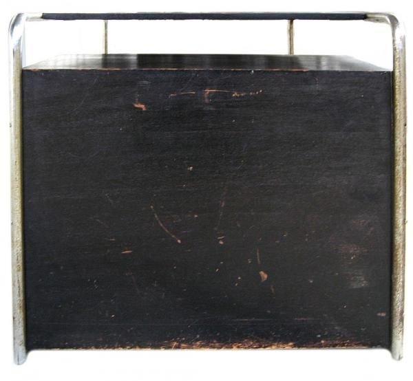 101: Marcel Breuer Thonet Bauhaus Steel & Wood Desk - 5