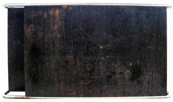 101: Marcel Breuer Thonet Bauhaus Steel & Wood Desk - 8