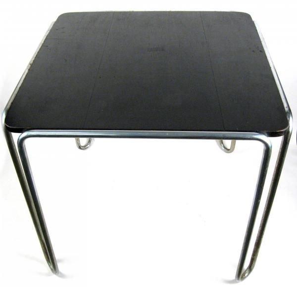 102: Marcel Breuer Thonet B-10 Tubluar Steel Table